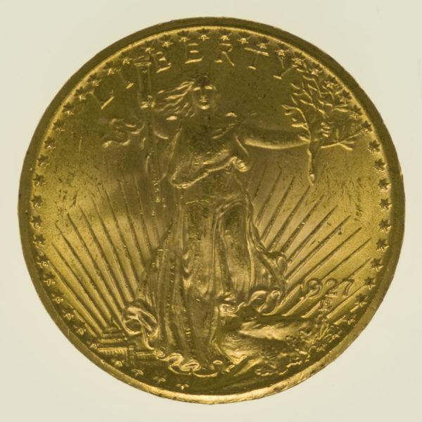 usa - USA 20 Dollars 1927 Statue