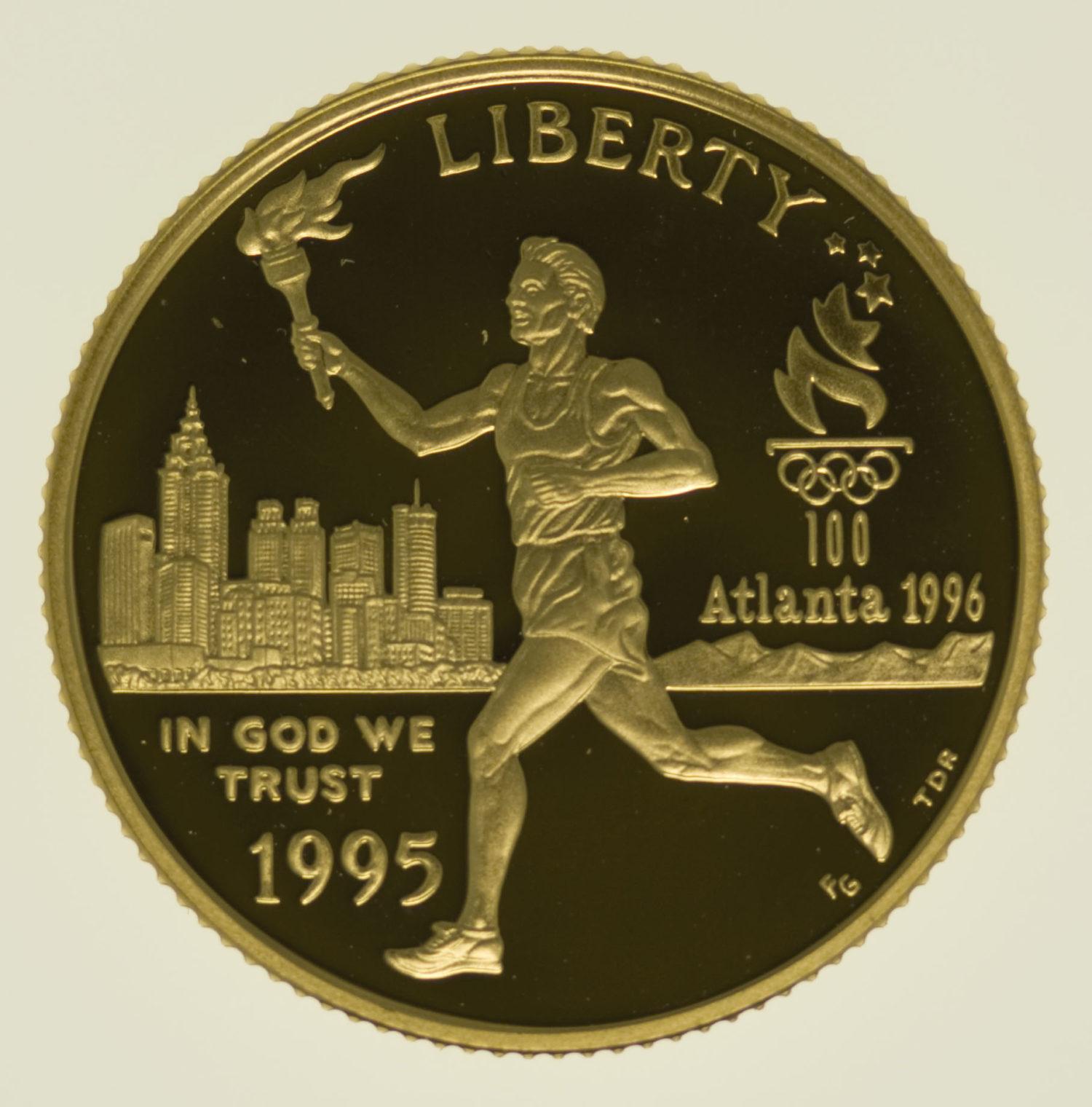 usa - USA 5 Dollars 1995 Olympiade