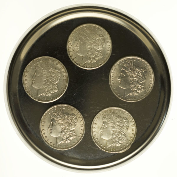 usa-silbermuenzen-uebrige-welt - USA Münzen Lot Morgan Dollars