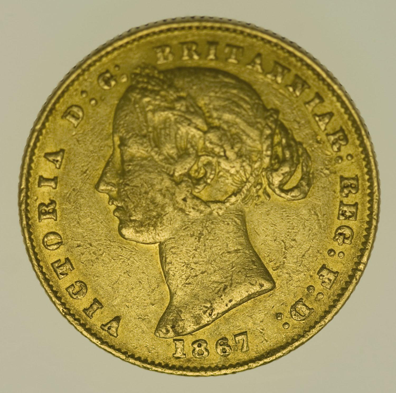 australien - Australien Victoria Sovereign 1867