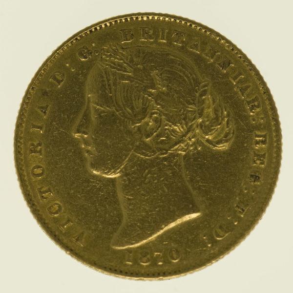 australien - Australien Victoria Sovereign 1870