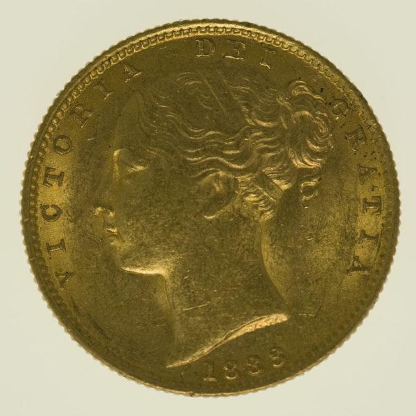 australien - Australien Victoria Sovereign 1883 S