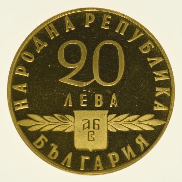 bulgarien - Bulgarien 20 Lewa 1963