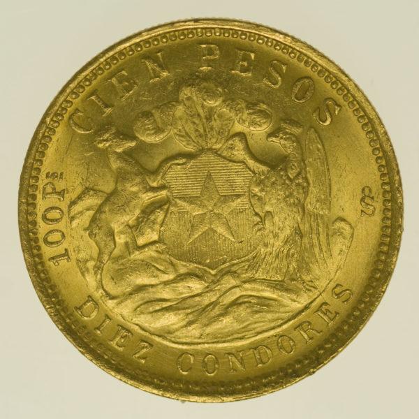 chile - Chile 100 Pesos 1926