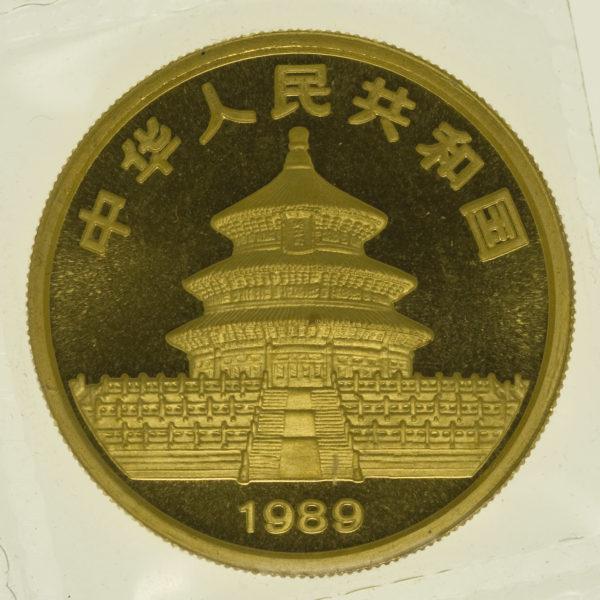 china - China Panda 1 Unze 1989