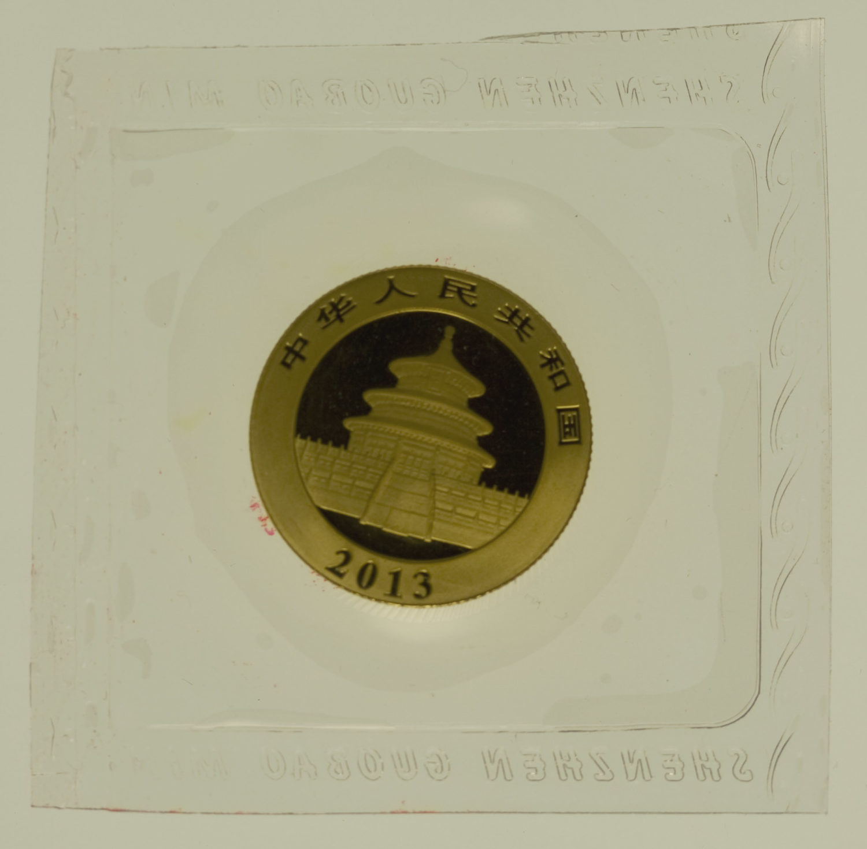 china - China Panda 1/4 Unze 2013