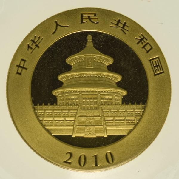 china - China Panda 1/2 Unze 2010