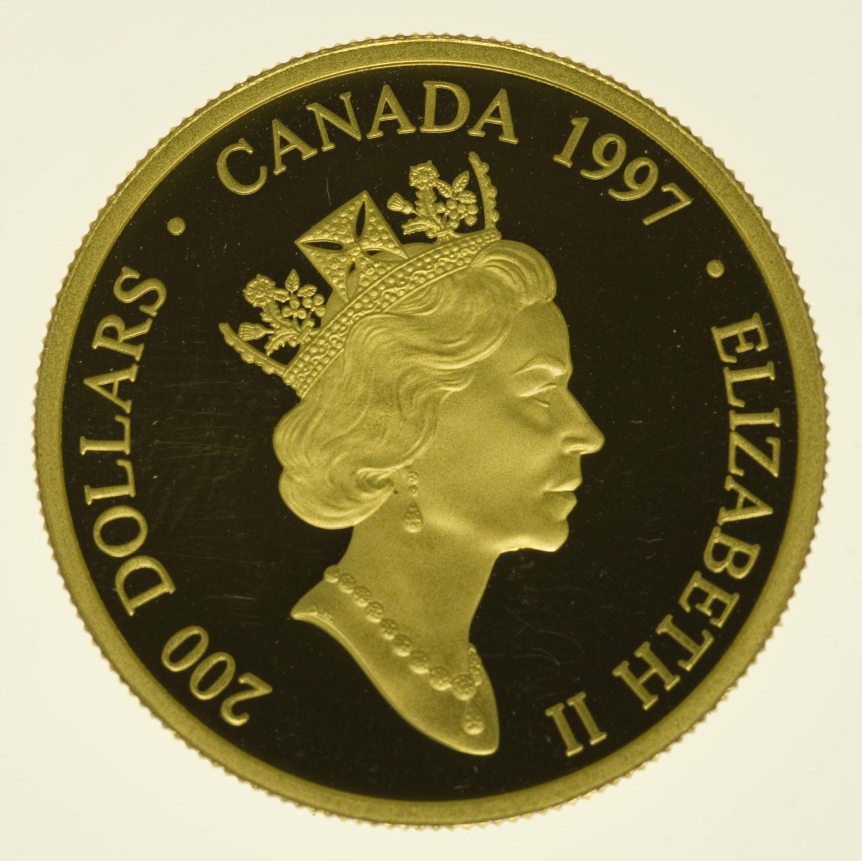 kanada - Kanada Elisabeth II. 200 Dollars 1997
