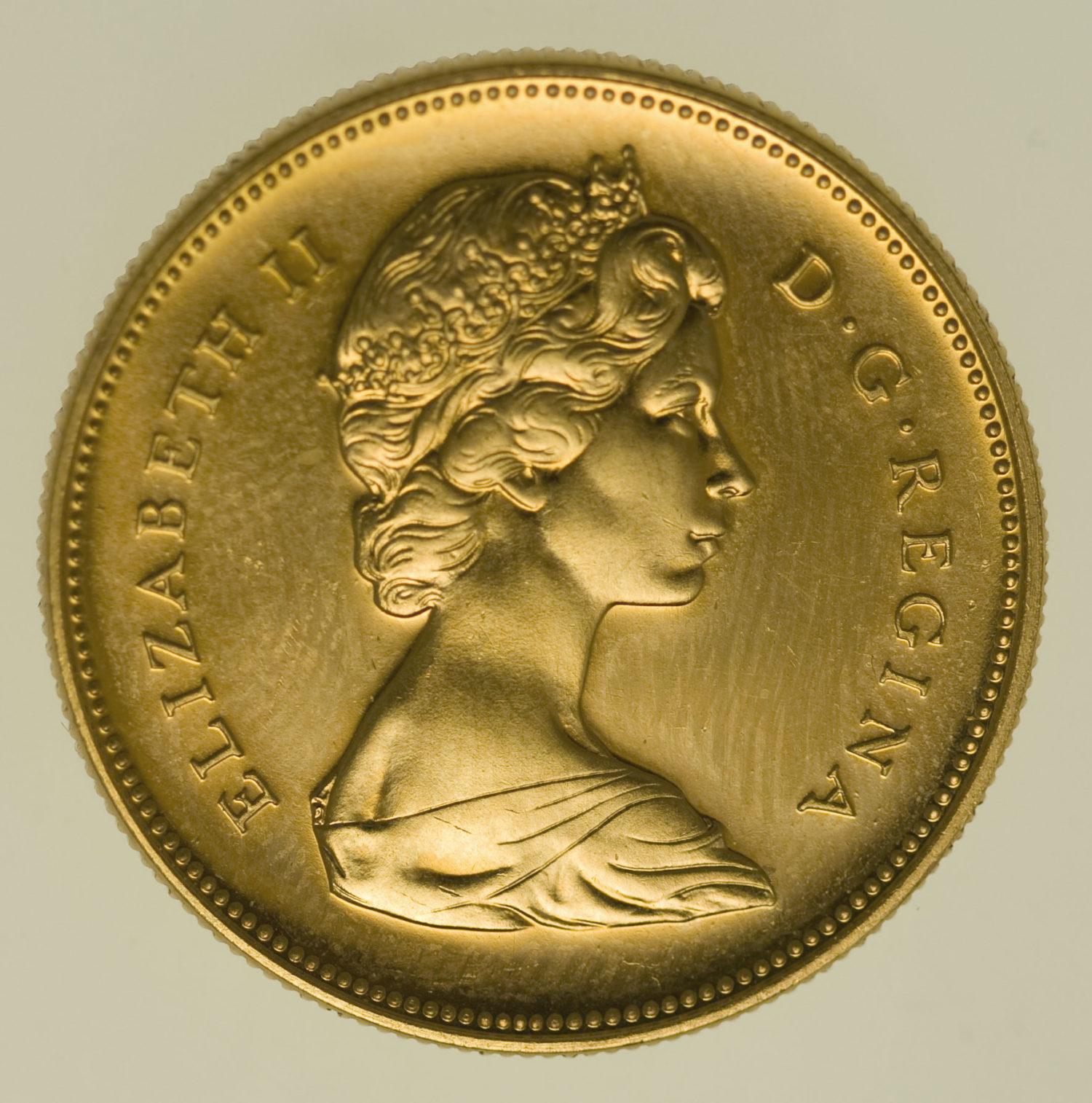kanada - Kanada Elisabeth II. 20 Dollars 1967