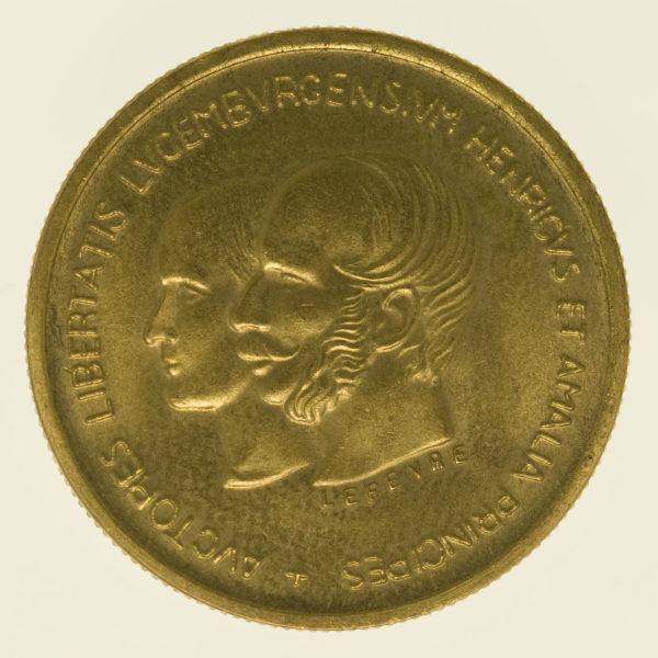 luxemburg - Luxemburg Jean Goldmedaille 1967