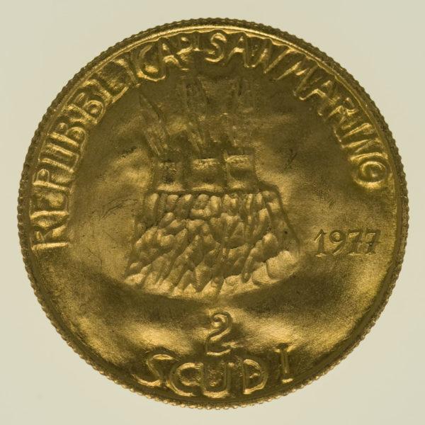 san-marino - San Marino 2 Scudi 1977