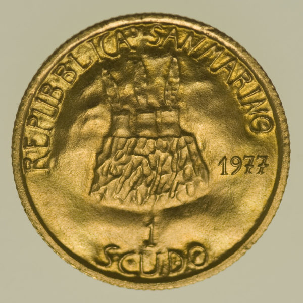 san-marino - San Marino 1 Scudo 1977