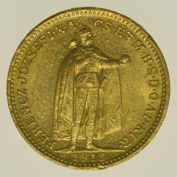 ungarn - Ungarn Franz Joseph I. 20 Kronen 1913