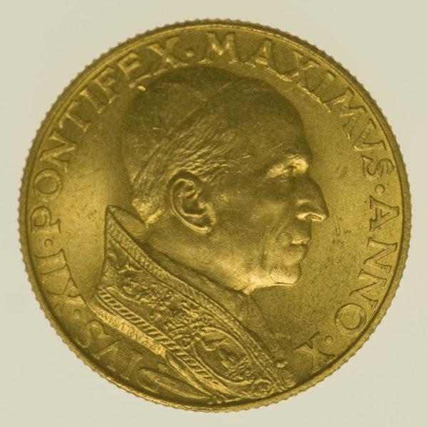 vatikan - Vatikan Pius XII. 100 Lire 1948
