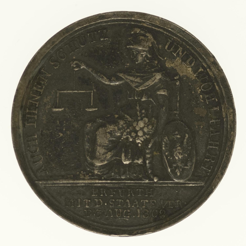 altdeutschland-deutsche-silbermuenzen - Preussen Friedrich Wilhelm III. Silbermedaille 1803