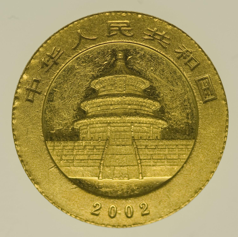 china - China Panda 1/4 Unze 2002