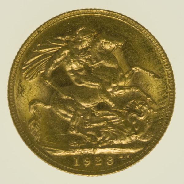 australien - Australien Georg V. Sovereign 1923 P