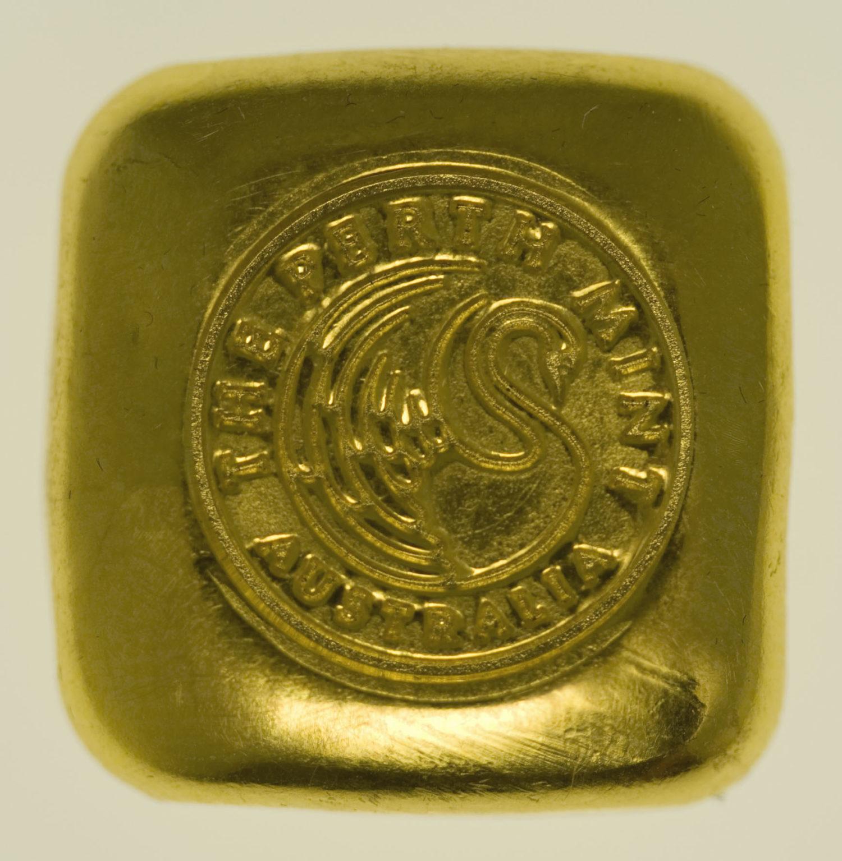 goldbarren - Goldbarren 1 OZ Perth Mint