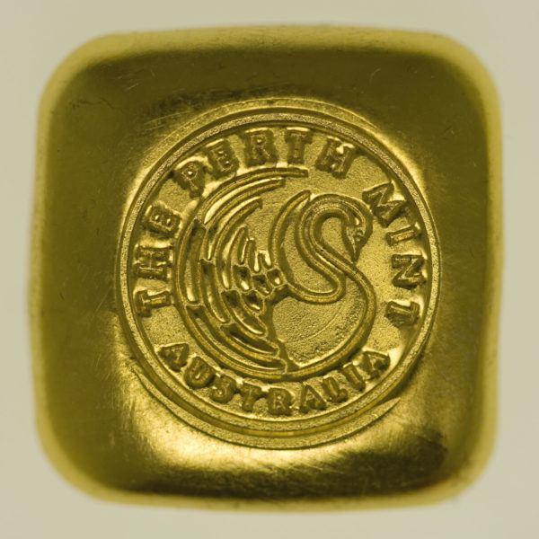 goldbarren - Goldbarren 1 OZ Perth Mint
