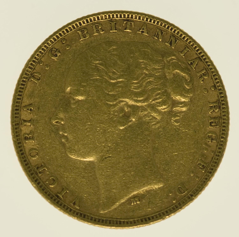 australien - Australien Victoria Sovereign 1879 M