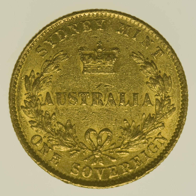 australien - Australien Victoria Sovereign 1866