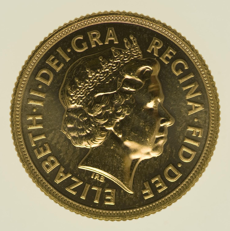 grossbritannien - Großbritannien Elisabeth II. Sovereign 2012