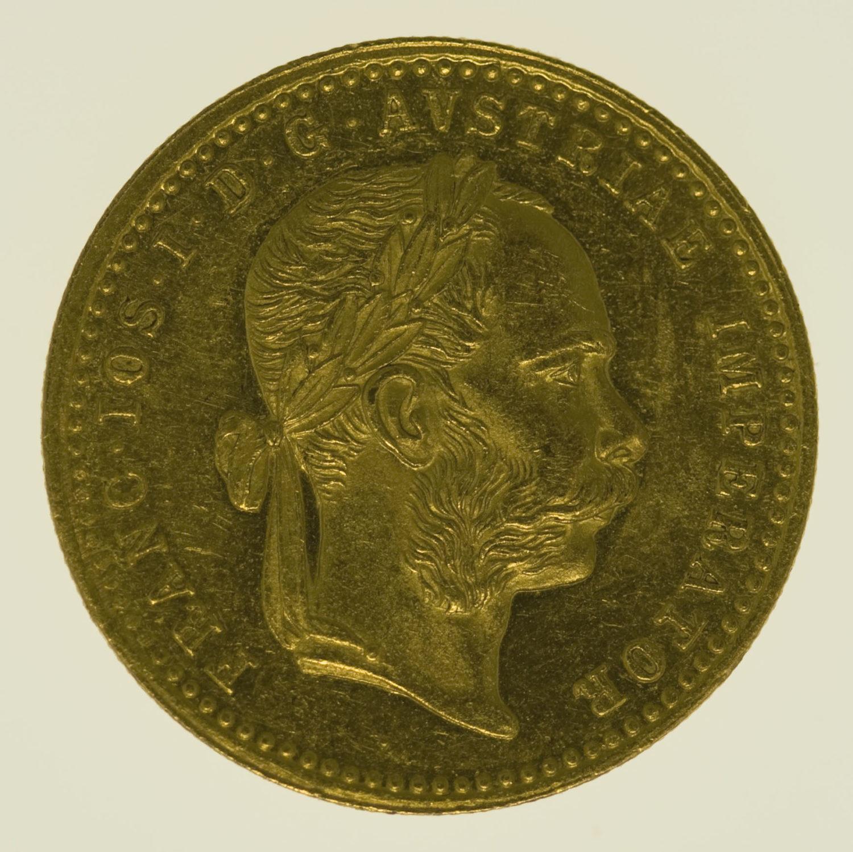 oesterreich - Österreich Kaiserreich Franz Joseph I. Dukat 1886