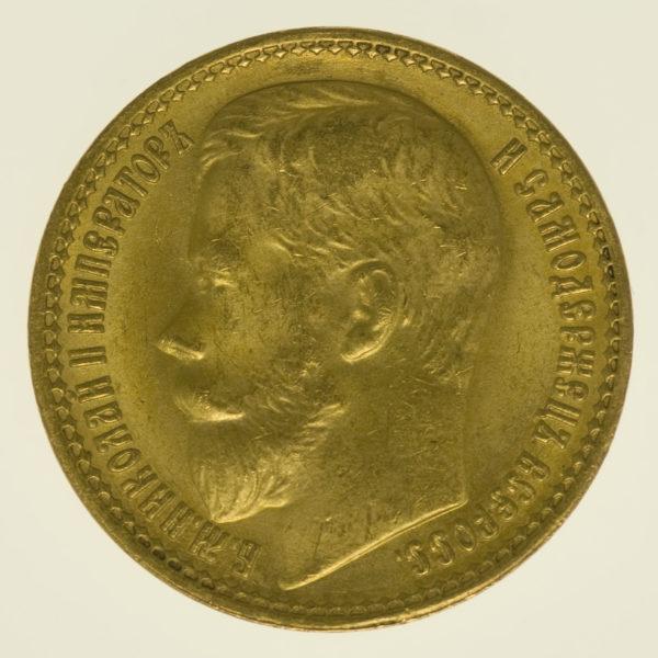 russland - RusslandNikolaus II. 15 Rubel 1897