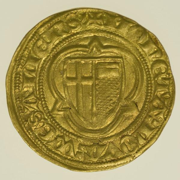 altdeutschland - Trier Werner von Falkenstein Goldgulden o.J.
