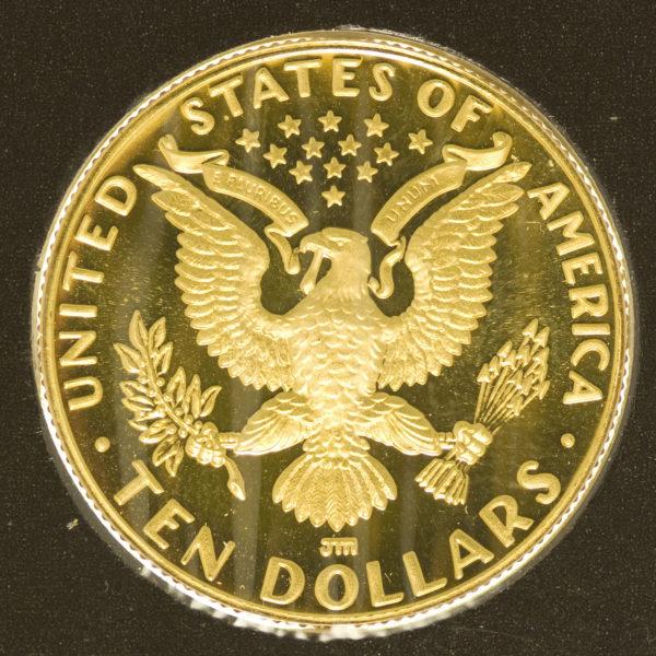 usa - USA 10 Dollars 1984