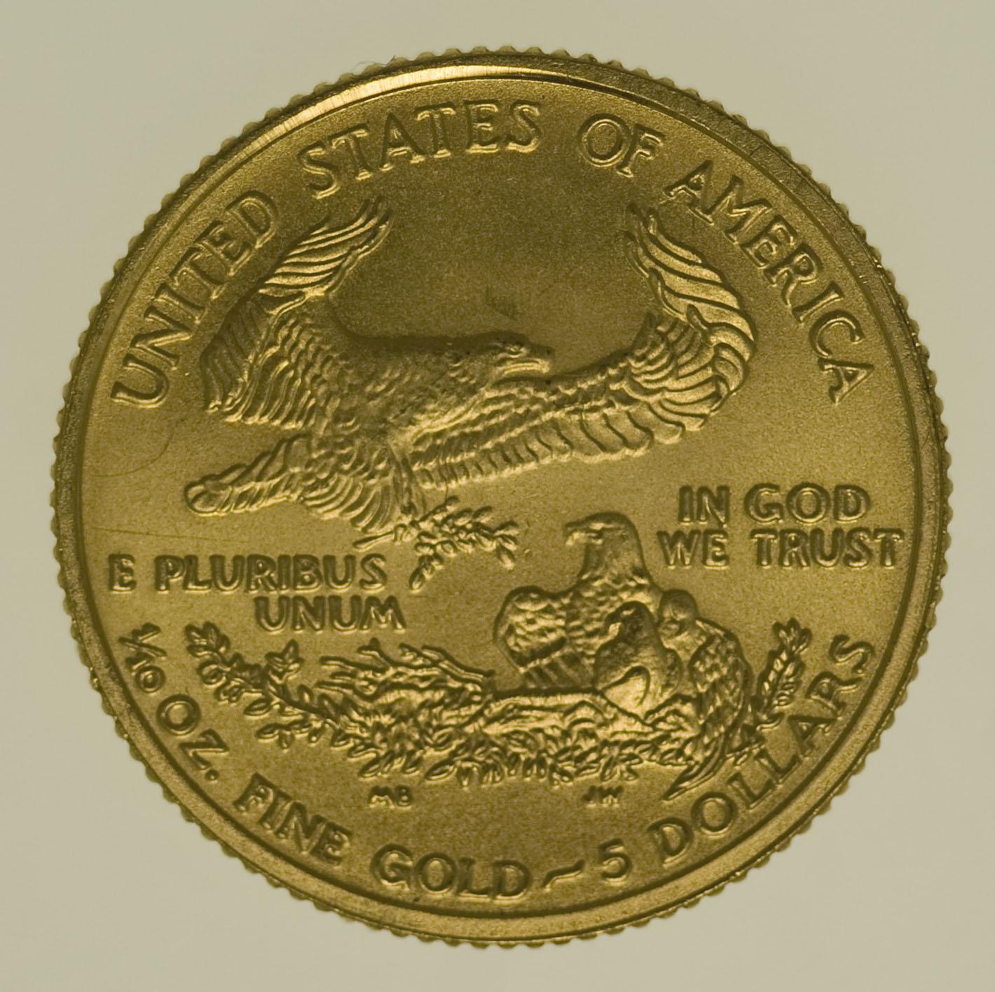 usa - USA 5 Dollars 2007 American Eagle versilbert