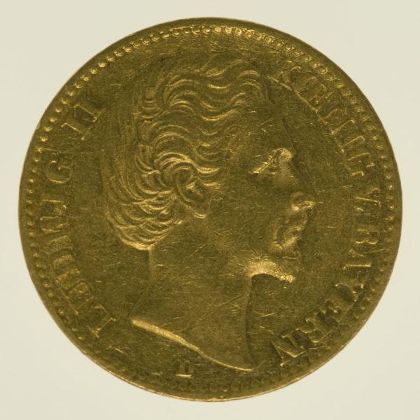 deutsches-kaiserreich-ab-1871 - Bayern Ludwig II. 20 Mark 1874