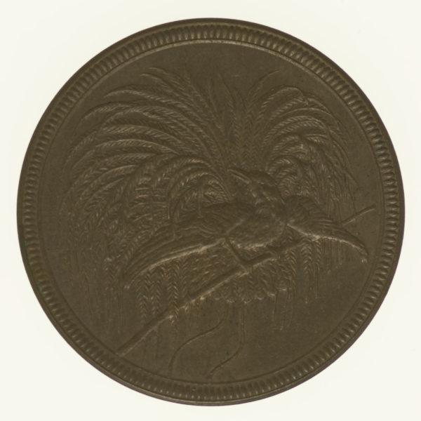 deutsche-kolonien-deutsche-silbermuenzen - Deutsch Neu Guinea Wilhelm II. 10 Pfennig 1894