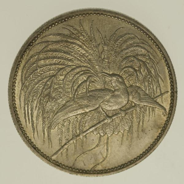 deutsche-kolonien-deutsche-silbermuenzen - Deutsch Neu Guinea Wilhelm II. 5 Mark 1894