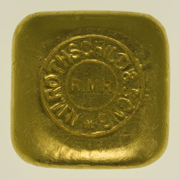 goldbarren - Goldbarren 50 Gramm Großbritannien N.M. Rothschild & Sons Limited