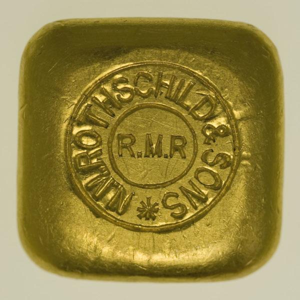 goldbarren - Goldbarren 50 Gramm Großbritannien N.M. Rothschild & Sons Limited