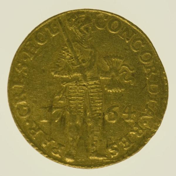 niederlande - Niederlande Holland Dukat 1764