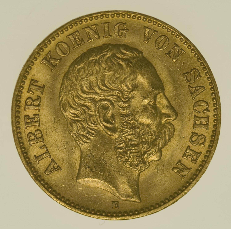 deutsches-kaiserreich-ab-1871 - Sachsen Albert 20 Mark 1876