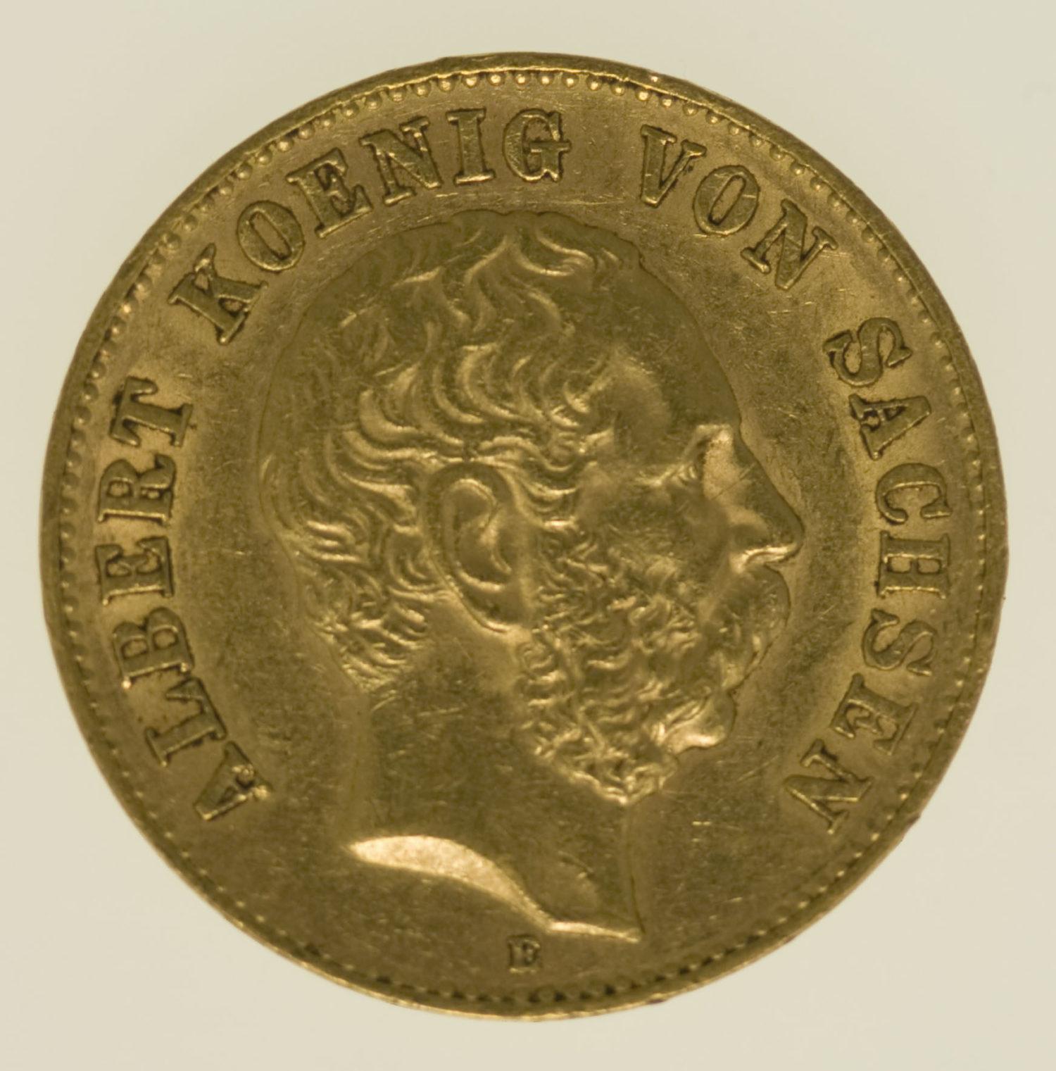 deutsches-kaiserreich-ab-1871 - Sachsen Albert 20 Mark 1894