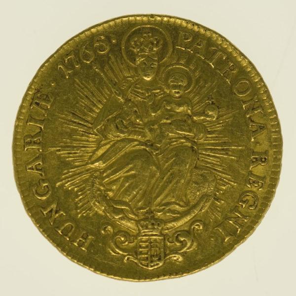 ungarn - Ungarn Maria Theresia 2 Dukaten 1765
