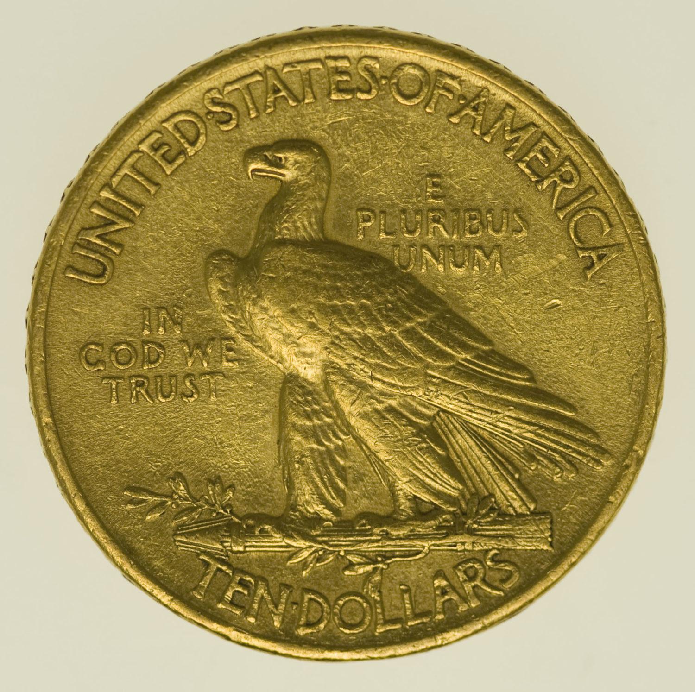 usa - USA 10 Dollars 1911 Indianer