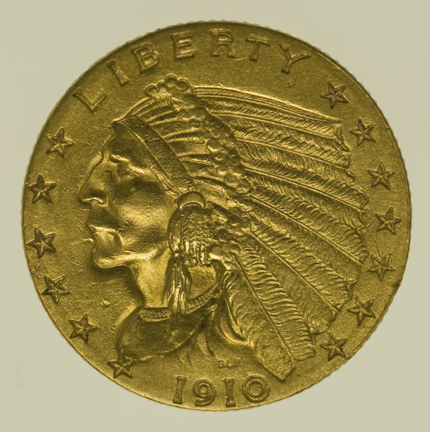 usa - USA 2,5 Dollars 1910 Indianer