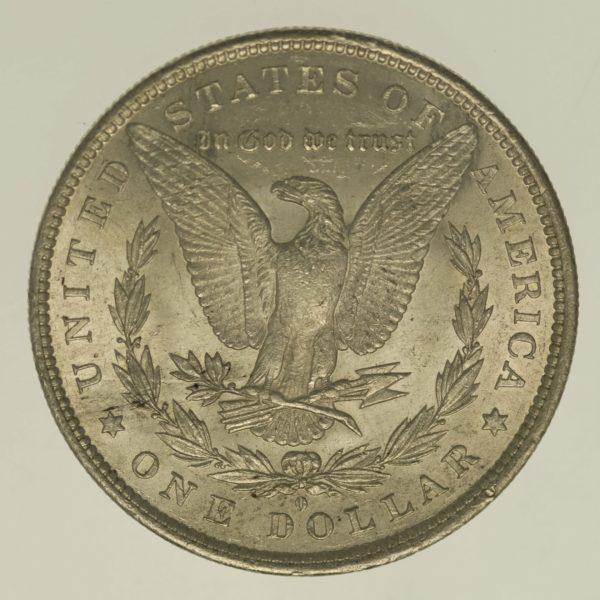 usa-silbermuenzen-uebrige-welt - USA Morgan Dollar 1883 O