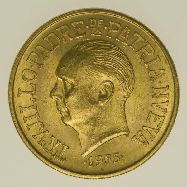 dominikanische-republik - Dominikanische Republik 30 Pesos 1955