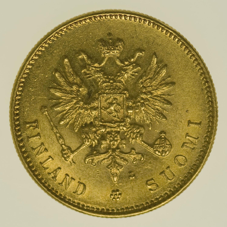 finnland - Finnland Nikolaus II. 20 Markkaa 1910