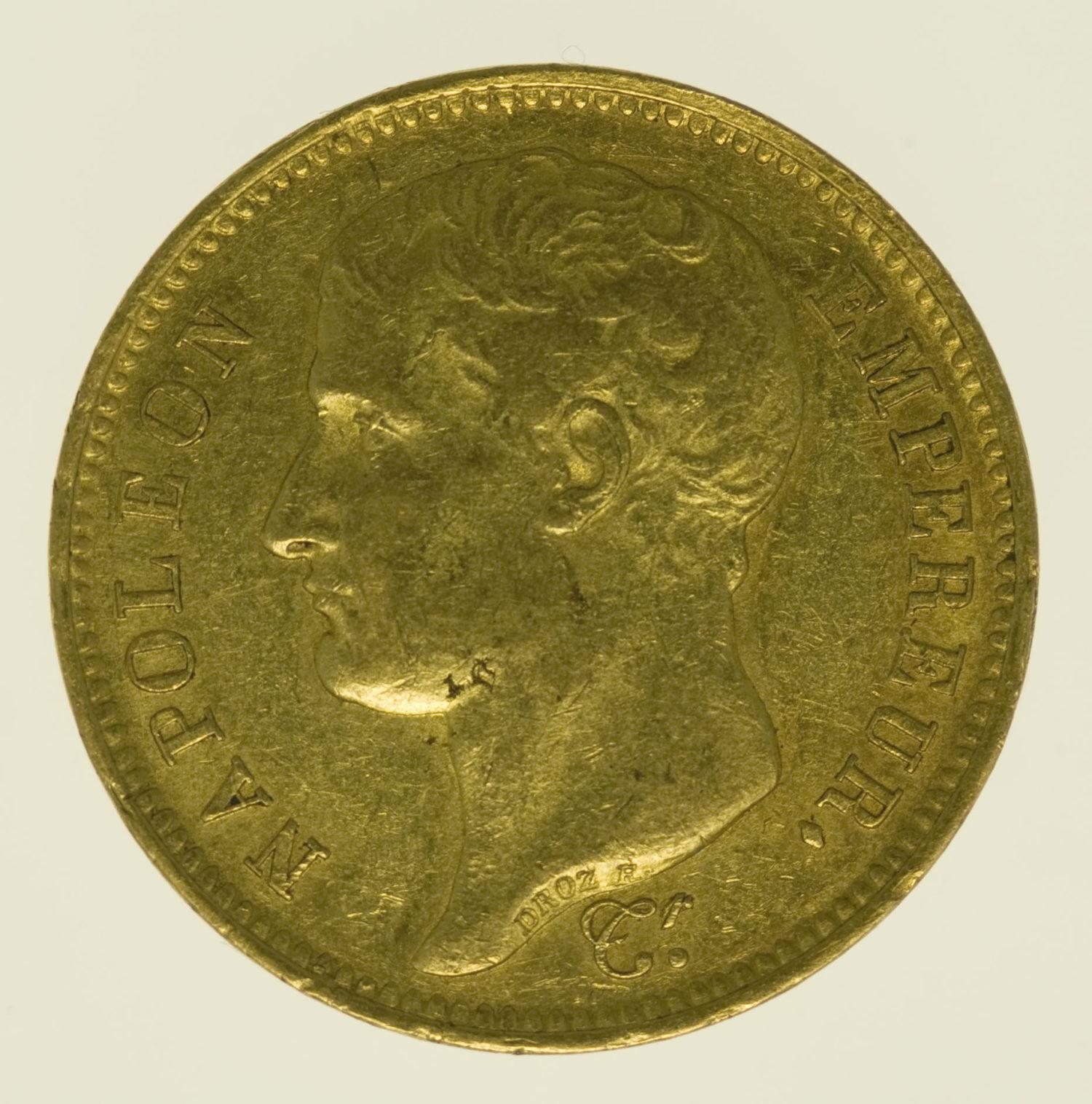 frankreich - Frankreich Napoleon I. 40 Francs 1807 M