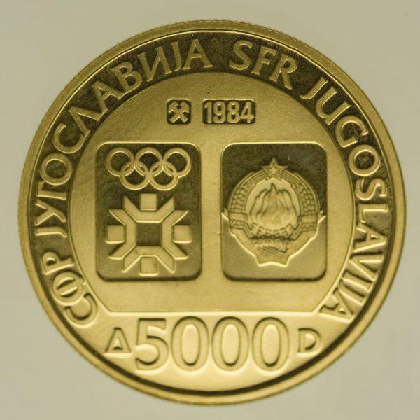 jugoslawien - Jugoslawien 5000 Dinara 1984