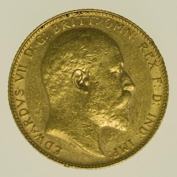 kanada - Kanada Edward VII. Sovereign 1909