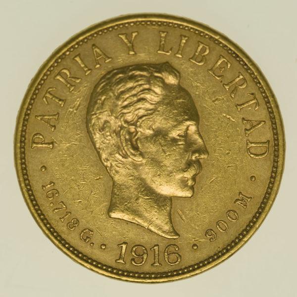 kuba - Kuba 10 Pesos 1916