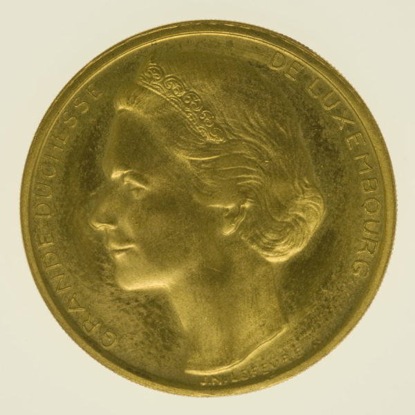 luxemburg - Luxemburg Jean Goldmedaille 1964